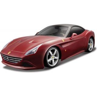 Bburago Ferrari California T (zavř.) 1:24 červená metalíza
