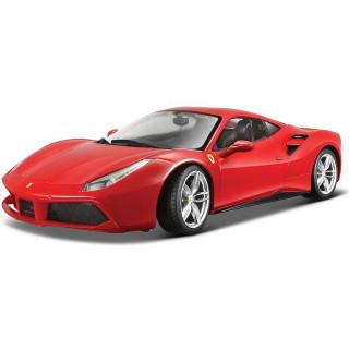Bburago Ferrari 488GTB 1:24 červená