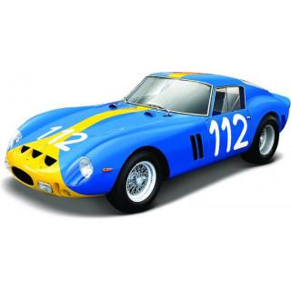 Bburago Ferrari Racing 250 GTO 1:24 modrá