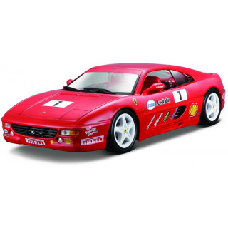 Bburago Ferrari F355 Challenge 1:24 červená