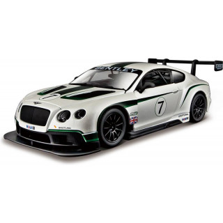Bburago Bentley Continental GT3 1:24 bílá
