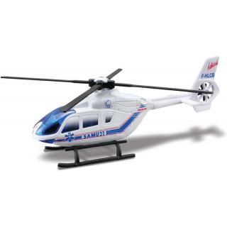 Bburago vrtulník Rescue 1:50 bílá
