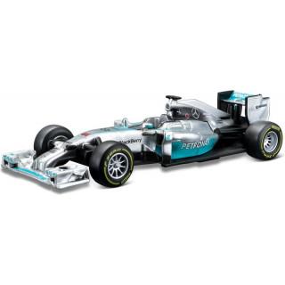 Bburago Mercedes AMG Petronas W05 1:43 NO44 Hamilton