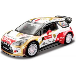 Bburago Citroen DS3 WRC 2013 1:32 Sébastien Loeb