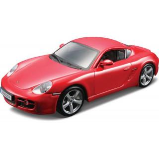 Bburago Porsche Cayman S 1:32 červená