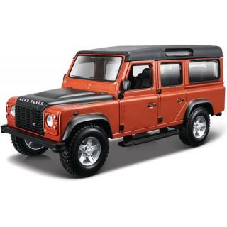 Bburago Land Rover Defeneder 110 1:32 hnědá metalíza