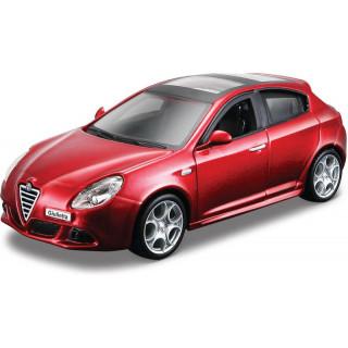 Bburago Alfa Romeo Giulietta 1:32 červená metalíza