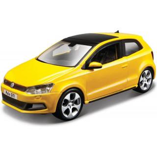 Bburago Volkswagen Polo GTI V 1:32 žlutá