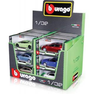 Bburago sada modelů aut 1:32 18ks