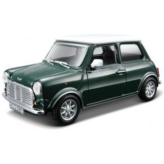 Bburago Mini Cooper 1969 1:32 zelená