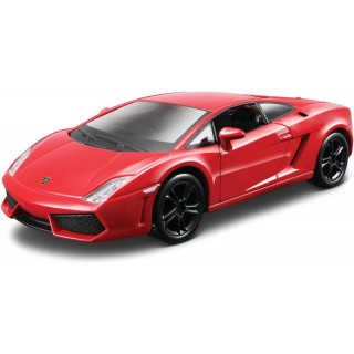 Bburago Kit Lamborghini Gallardo LP 560-4 1:32 červená