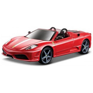 Bburago Kit Ferrari Scudiera Spider 16M 1:32 červená