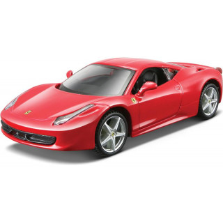 Bburago Kit Ferrari 458 Italia 1:32 červená