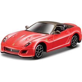 Bburago Ferrari 599 GTO 1:64 červená