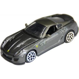 Bburago Ferrari 599 GTO 1:64 šedá metalíza