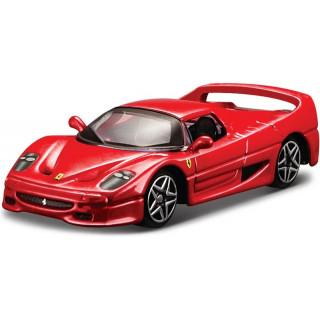 Bburago Ferrari F50 1:64 červená