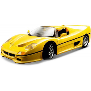 Bburago Ferrari F50 1:64 žlutá