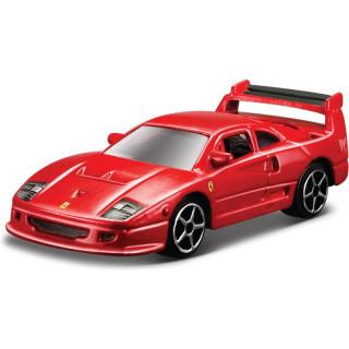 Bburago Ferrari F40 Competizione 1:64 červená