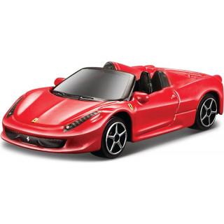 Bburago Ferrari 458 Spider 1:64 červená