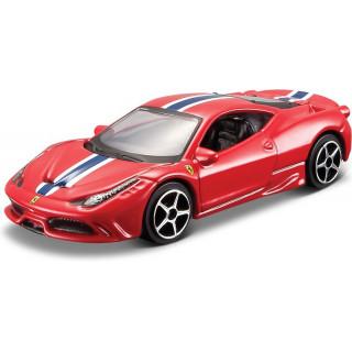 Bburago Ferrari 458 Italia Speciale 1:64 červená