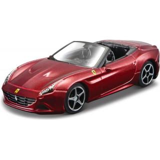 Bburago Ferrari Ferrari California T 1:64 vínová metalíza