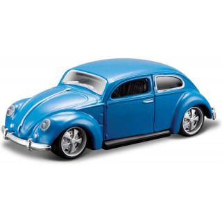 Bburago Volkswagen Beetle 1:64 modrá