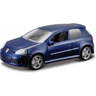 Bburago Volkswagen R32 1:64 modrá metalíza