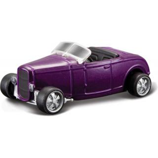 Bburago Ford Roadster 1932 1:64 fialová metalíza