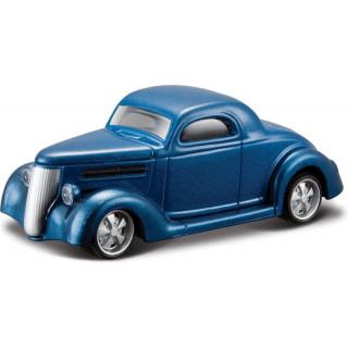 Bburago Ford Coupe 1936 1:64 modrá metalíza