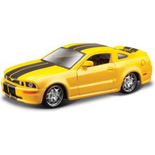 Bburago 2006 Ford Mustang GT 1:64 žlutá
