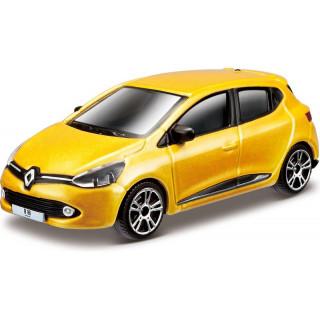 Bburago Renault Clio 1:64 žlutá metalíza