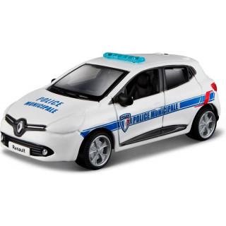 Bburago Renault Clio Police 1:64 bílá