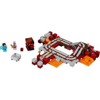 LEGO Minecraft - Podzemní železnice