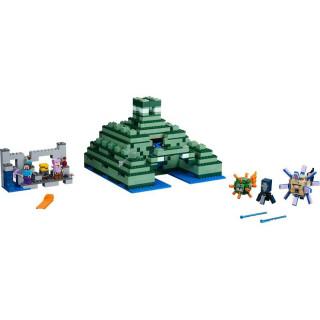 LEGO Minecraft - Památník v oceánu