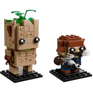 LEGO BrickHeadz - Groot a Rocket