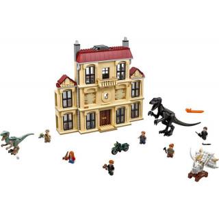LEGO Jurský Park - Řádění Indoraptora vLockwoodově sídle