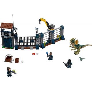 LEGO Jurský Park - Útok Dilophosaura na hlídku