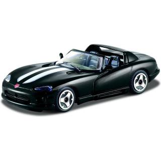 Bburago Dodge Viper RT/10 1:43 černá