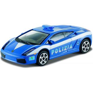 Bburago Lamborghini Gallardo Polizia 1:43 modrá