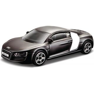 Bburago Audi R8 1:43 černá