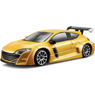 Bburago Renault Mégane 1:43 žlutá metalíza