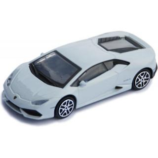 Bburago Lamborghini Huracán LP 610-4 1:43 světle šedá metalíza