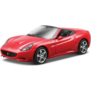 Bburago Ferrari California 1:43 červená