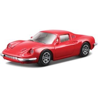 Bburago Ferrari Dino 246 GT 1:43 červená