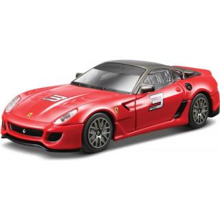 Bburago Ferrari 599xx 1:43 červená
