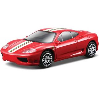 Bburago Ferrari Challenge Stradale 1:43 červená