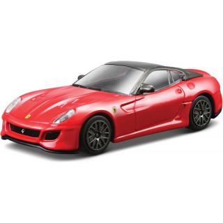 Bburago Ferrari 599 GTO 1:43 červená