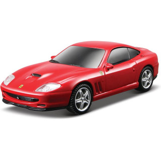 Bburago Light & Sound Ferrari 550 Maranello 1:43 červená