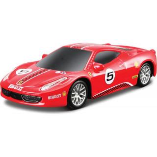 Bburago Light & Sound Ferrari 458 Challenge 1:43 červená