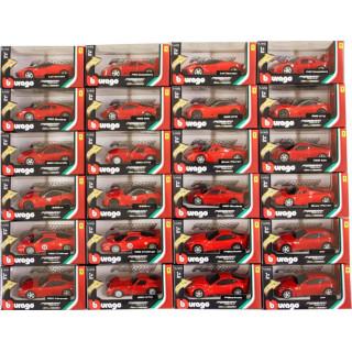 Bburago sada modelů aut Ferrari Light & Sound 1:43 24ks